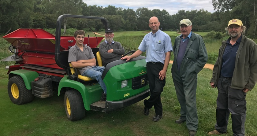 A new Rink DS800 for Thorpeness GC