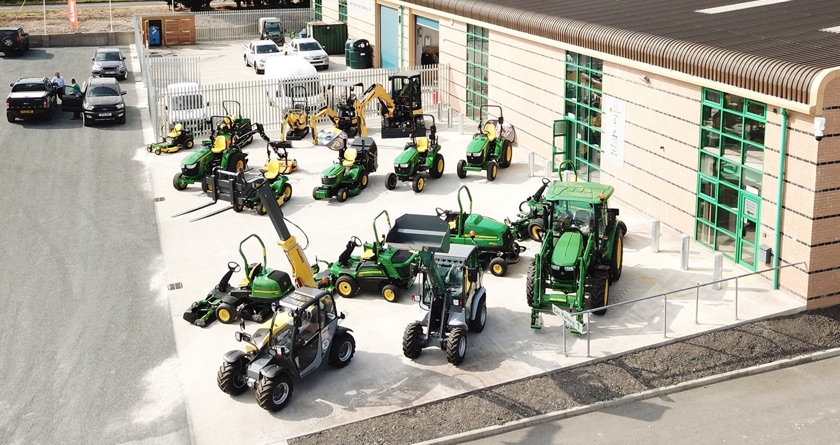 New Forest's new John Deere outlet