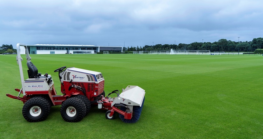 Ventrac additions at Tottenham FC