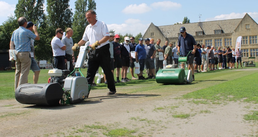 Cricket event a hit for groundsmen