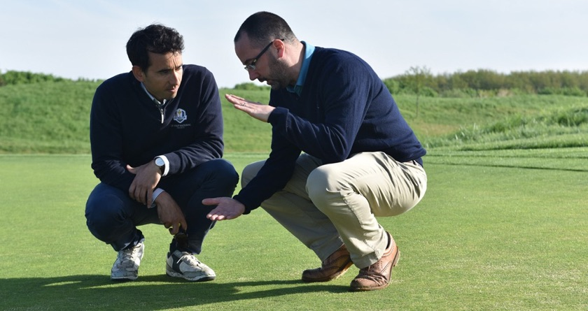 Excitement builds at Le Golf National