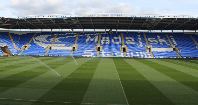 Madejski Stadium's great reconstruction
