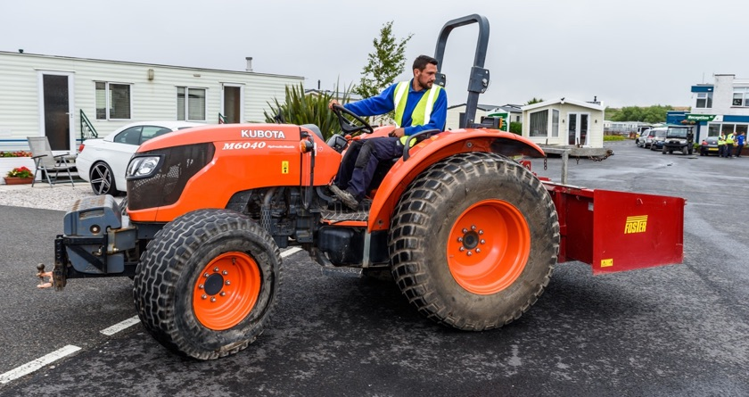 Kubota and Partingtons are perfect pair