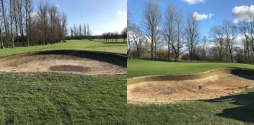 EcoBunker rebuild Dudsbury Golf Club