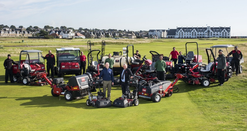 Toro excels at Carnoustie
