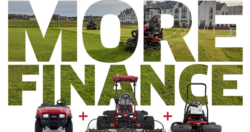 Four finance schemes from Toro
