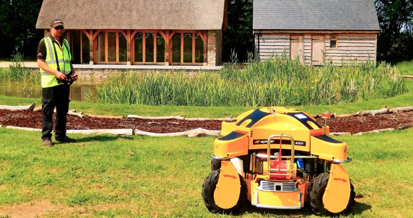 Iconic cider brand uses Spider mower