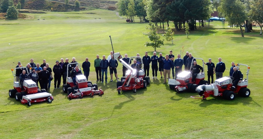 Russell Group's Ventrac demo day