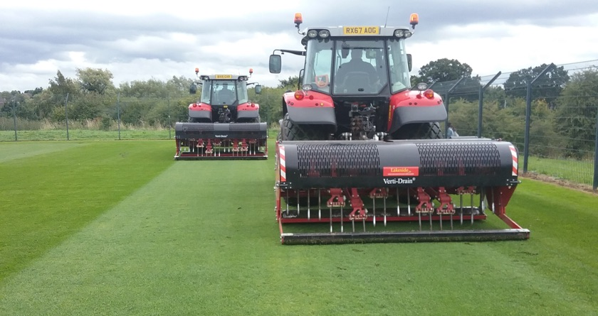 Birmingham City FC buys 2nd Verti-Drain