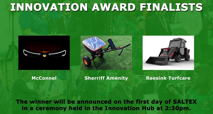 Final 3 for SALTEX 2018 Innovation Award