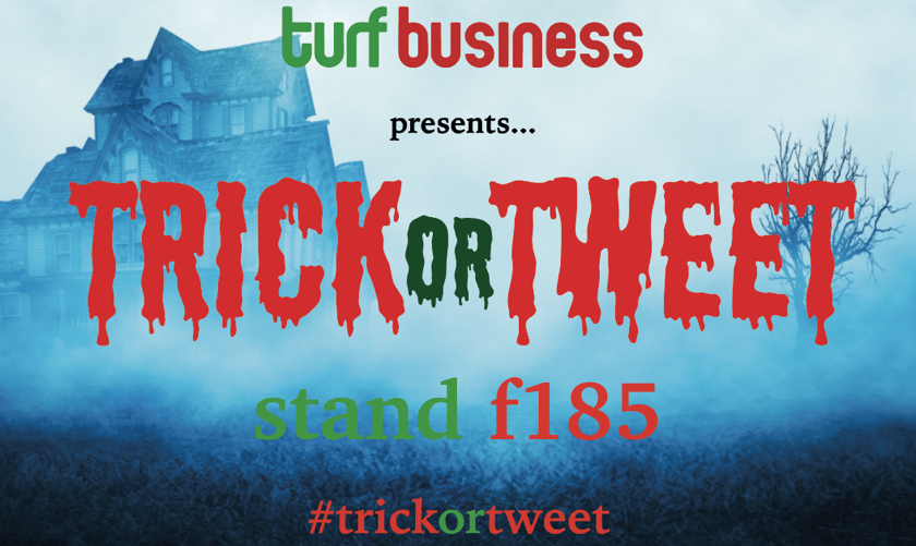 Tricks, treats and tweets on Turf Business Stand