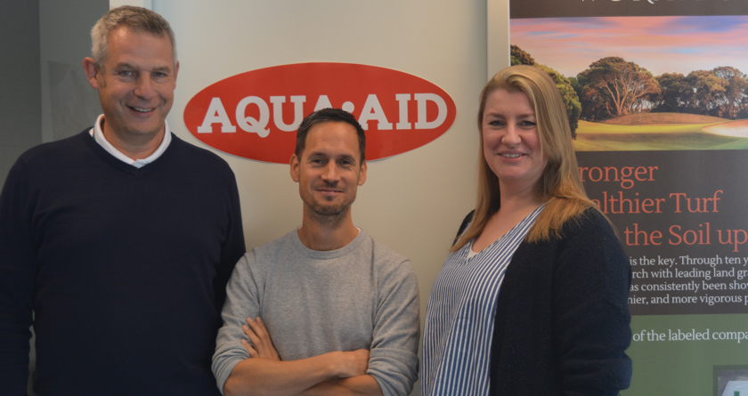 AQUA-AID EU's new offices and staff