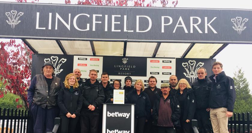 Lingfield Park Resort win IOG award