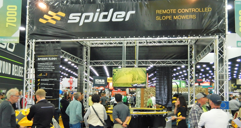 Spider enjoys successful GIE+EXPO 2018
