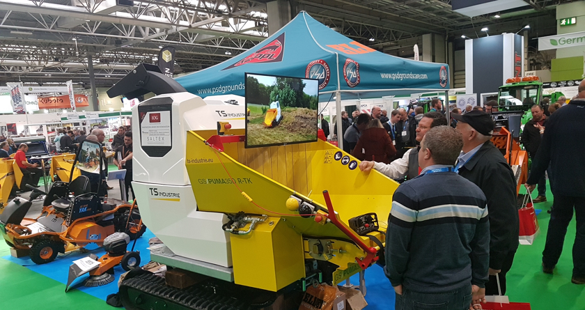 PSD Groundscare's success at Saltex