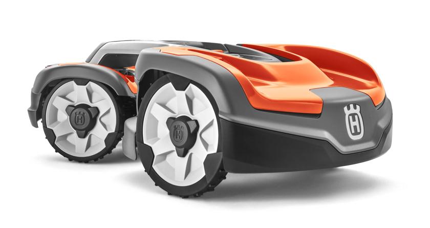 Husqvarna unveils AWD robotic mower
