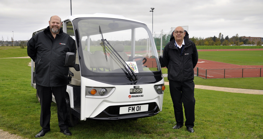 Edge Hill Uni buy first E-Z-GO 14-seater