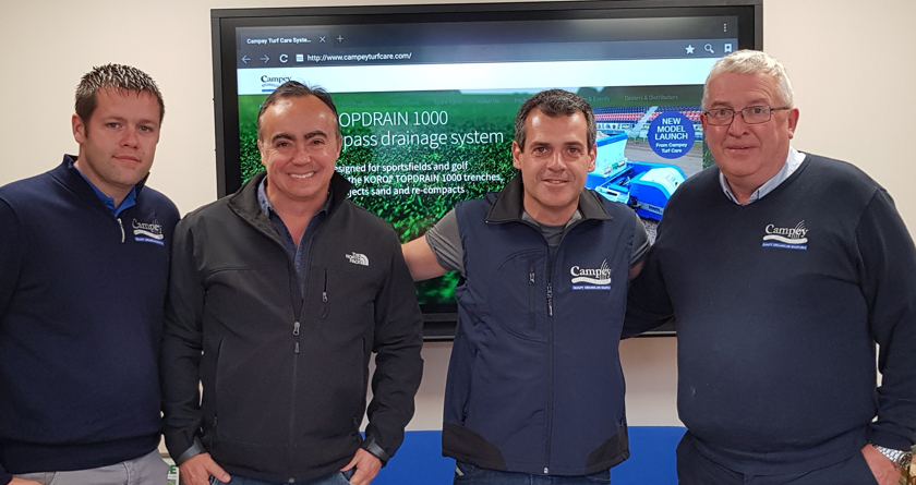 Campey's two new dealers in South America