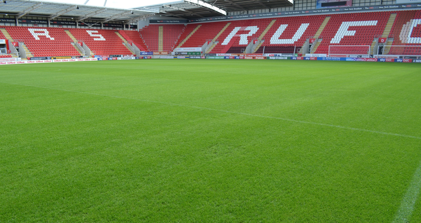 Rigby Taylor are champs at Rotherham United FC