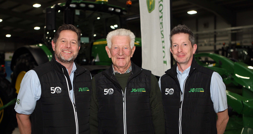 Johnston Gilpin celebrates 50 years