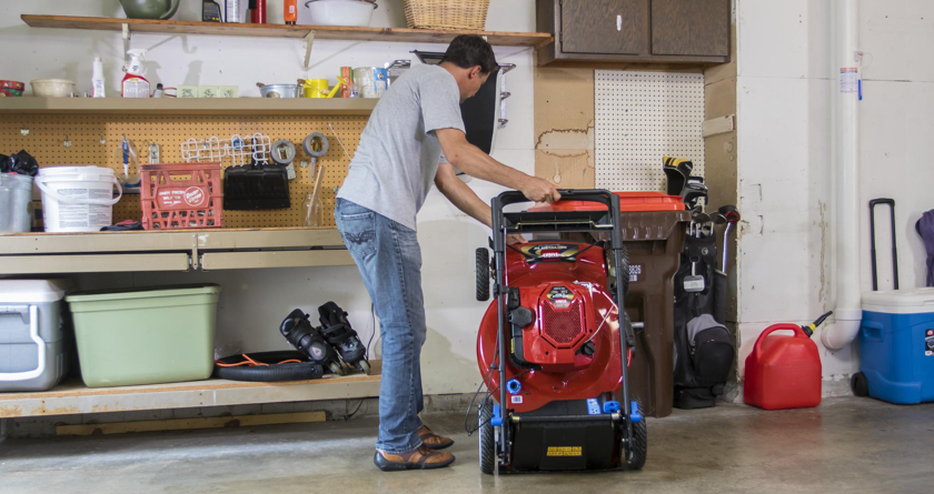 How to maintain your mower this winter