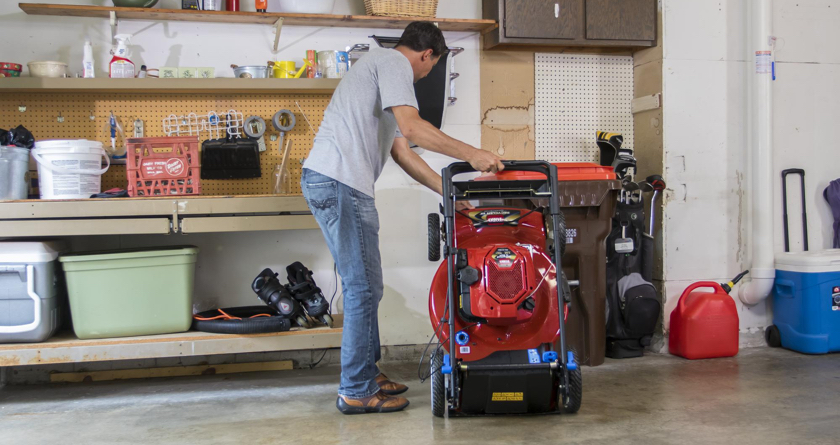 Maintaining your mower this winter