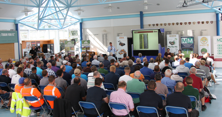 Dennis & SISIS launch Groundcare Seminar