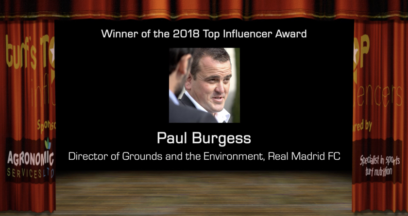 Popular Paul wins 2018 Top Turf Influencer title