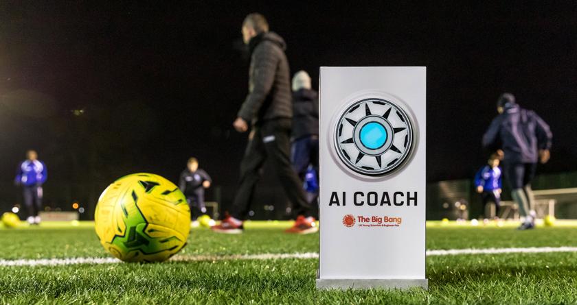 AI football coach inspires kids through STEM