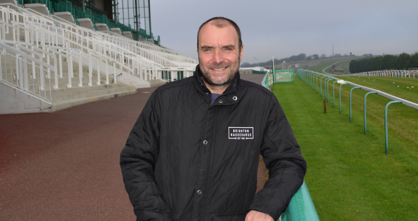 Rigby Taylor benefits Brighton racecourse