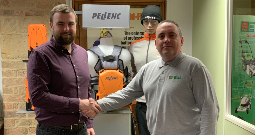 Camsaw as Pellenc distributor in Ireland