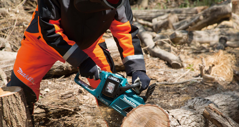 Demand soars for Makita's chainsaws