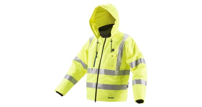 Makita's jackets warm to winter fashion