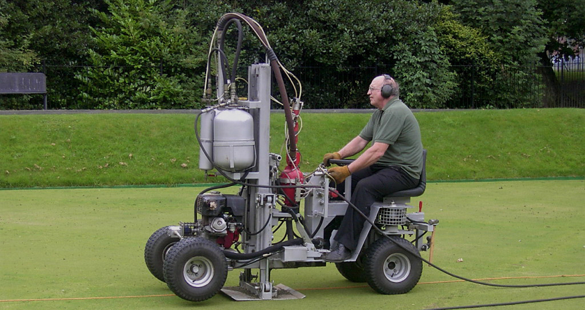 Deep aeration cures waterlogging long term