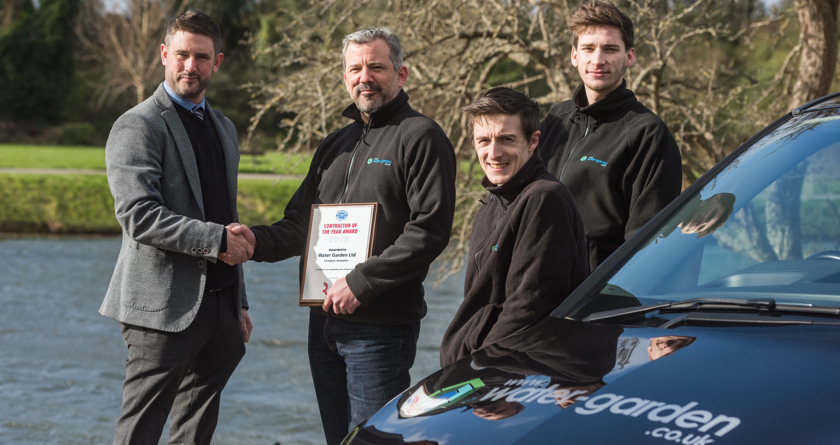Water Garden win Otterbine award