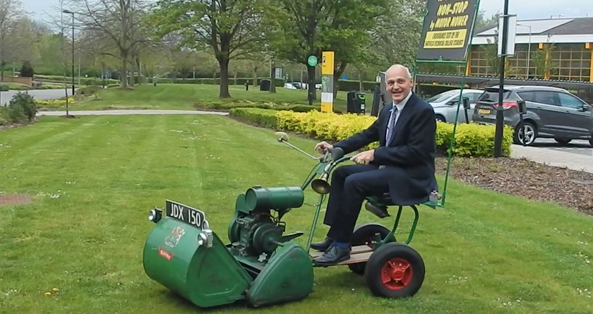 Lawnmower journey marks 60th year