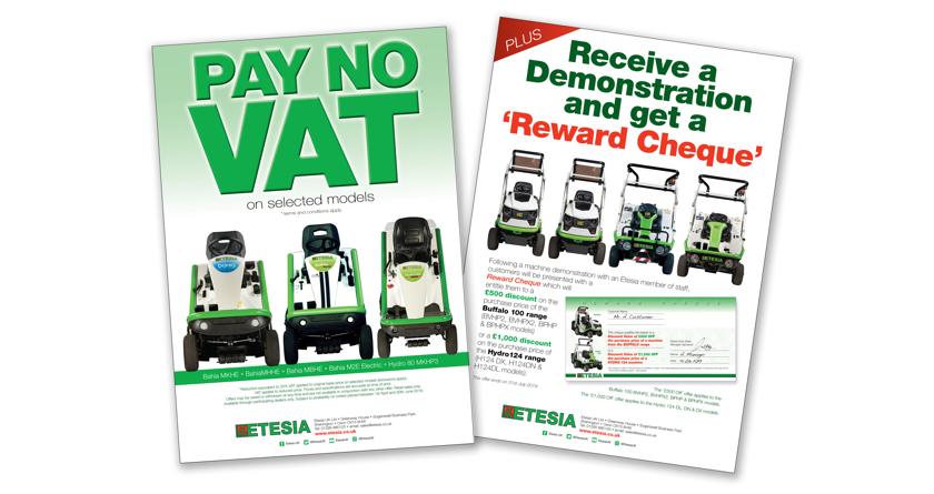 Etesia launch VAT-free deal