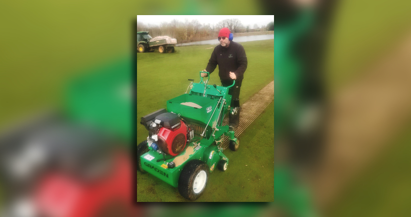 Graden CSI beats disease at Bransford Golf Club