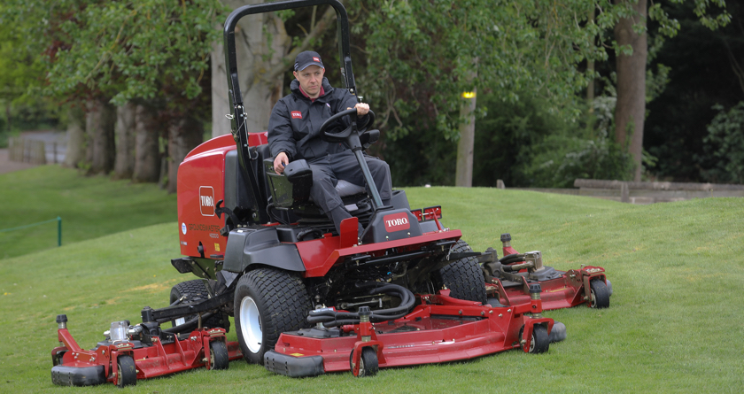 Toro beats competition at Bridgnorth GC