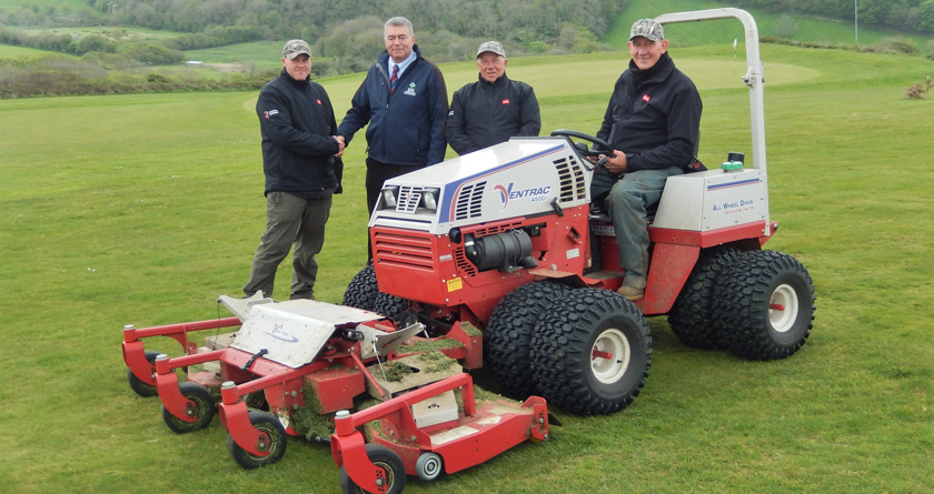 Ventrac and SISIS for Merlin Golf Course