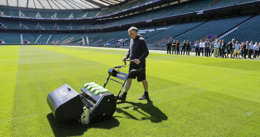 Allett's electric day at Twickenham