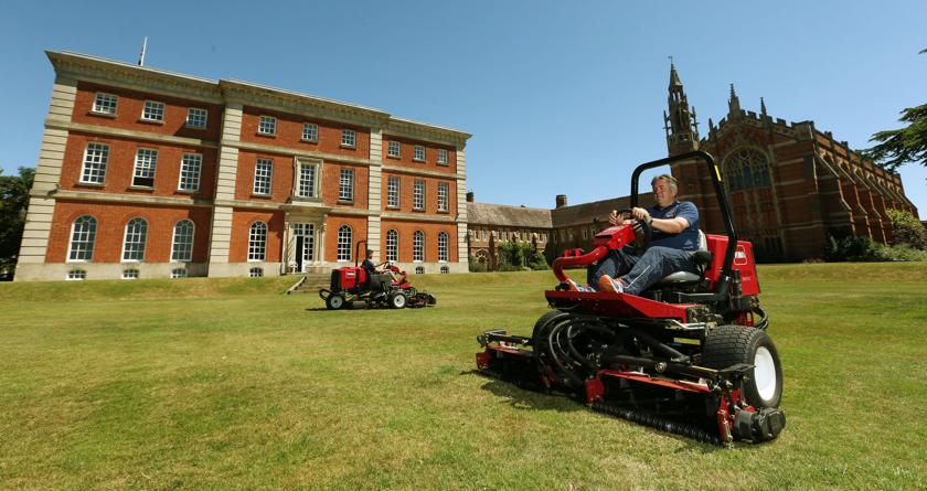 Time-saving Toro at Radley College