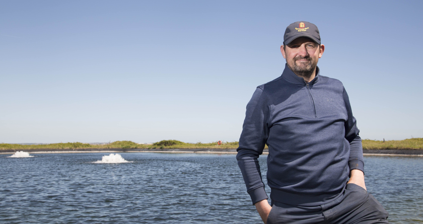 Otterbine improves water quality at Royal Cinque