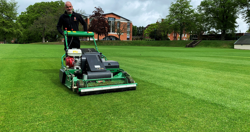 Dennis PRO 34R: the ultimate rotary mower