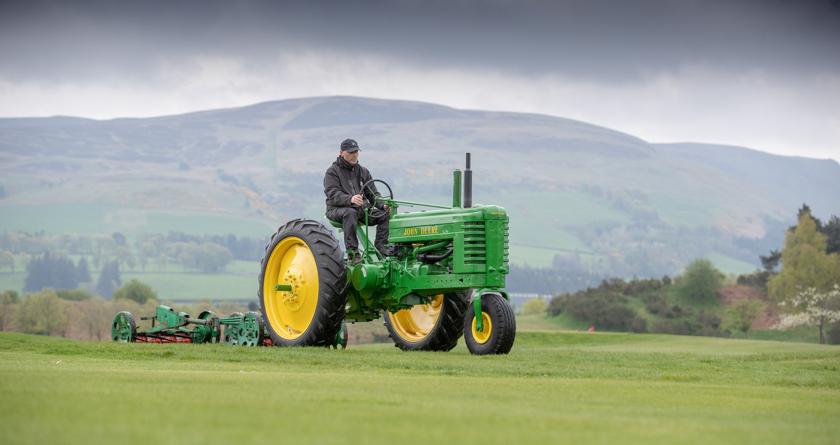 Gleneagles marks courses centenary