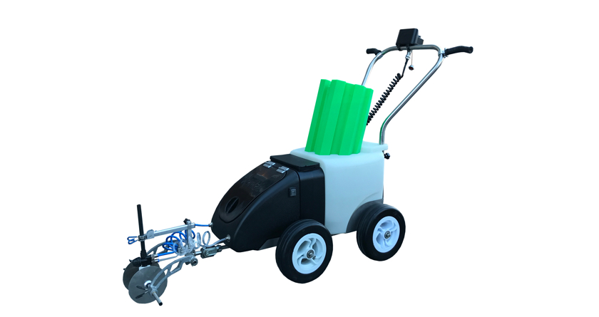 Fleet Line Marker's new eco-friendly machines