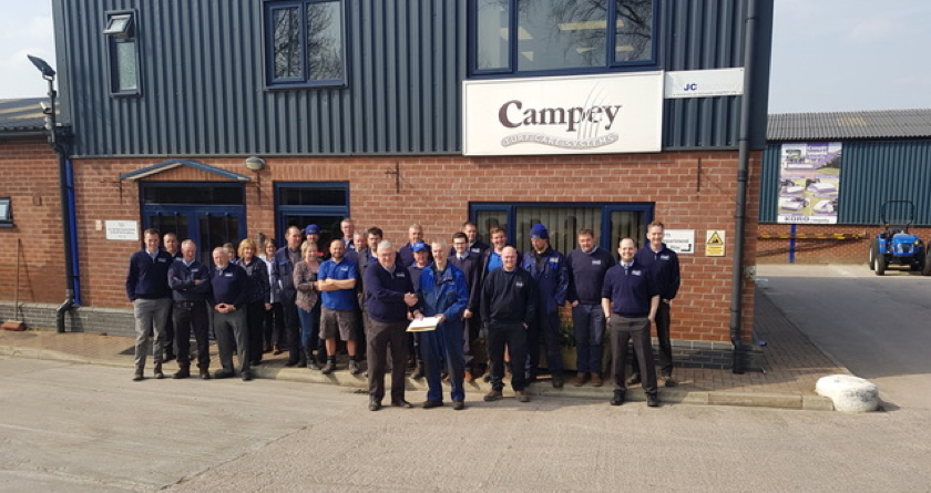 Campey's Mick Parks Retires after 27 Years