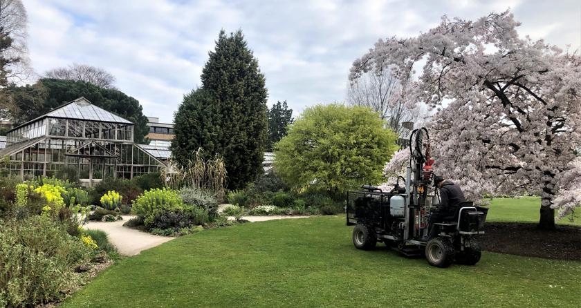 Terrain Aeration visit Botanic Garden