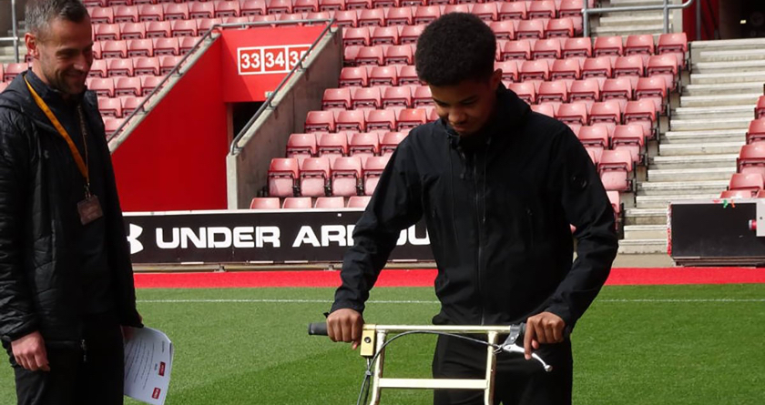 Introducing groundsmanship at the Saints FC