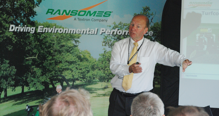 Nigel Church retires from Ransomes
